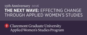 Happy 15 Years, Applied Women's Studies – CGU!