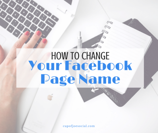 How To Customize Your Facebook Page Name